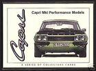 FORD CAPRI MK1 (1969-74) - Collectors Card Set - 3000E GT GXL RS3100 Perana V8