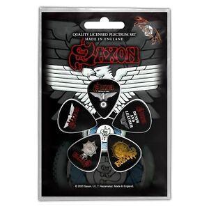 Saxon Wheels of Steel 5 Plectrum Pack (rz)