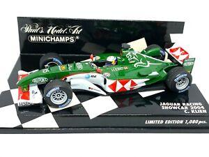 Ltd Edition 1:43 scale Minichamps Jaguar Racing F1 Showcar - C Klien 2004 Model