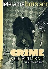 Telerama   Hors Serie N° 166   Crime Et Chatiment Au Musee D'orsay :Crime Et Cha
