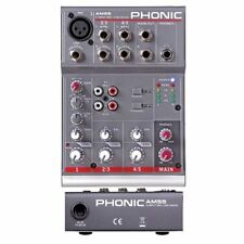 Phonic Am55 - Mixer Compatto 3 Canali ( 1 Mic/line 2 Stereo)