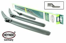 VW Touran 2007-2010 full set of 3 HEYNER windscreen wiper blades FRONT+REAR