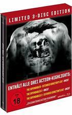 The Expendables - Uncut - Teil: 1 - 3 - Steelbook [Blu-ray/FSK 18/NEU/OVP]