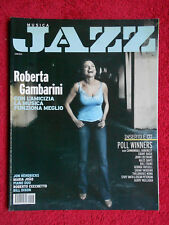 Rivista MUSICA JAZZ 8-9/2010 Roberta Gambarini Jon Hendricks Bill Dixon No cd