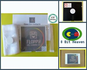 """5.25"""" FLOPPY DISK CLEANER - CLEANING TOOL / FRAME KIT - COMMODORE 64, BBC, ETC"""