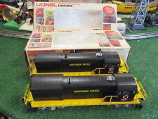 LIONEL 8857 & 58 NORTHERN PACIFIC U36B DIESELS POWER & DUMMY UNITS NIOB 1978-80