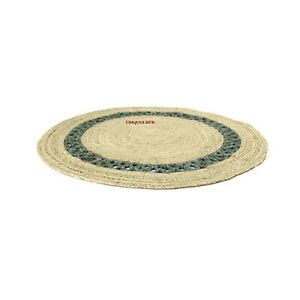 Rug Natural Braided Jute Reversible Home Decor Carpet Modern Area Outdoor Rugs