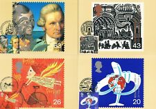 1999 - Travellers Tale PHQ Card set, various pictorial handstamps