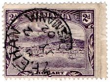(I.B) Australia Postal : Tasmania Postmark 2d (Zeehan)