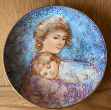 1984 Edna Hibel Mother's Day Decorative Collector Plate