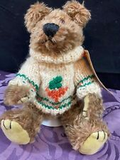 """Retired Boyd's Bears Investment Collectables Morris 9 """" Brown Jointed Plush Nwt"""