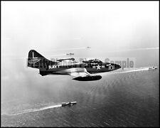 USN F9F Panther From USS Bon Home Richard Korea 1952 8x10 Aircraft Photos