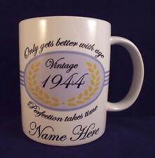 Personalised Violet Birthday - Coffee Mug - 30th 40th 50th 60th 70th 80th 90th