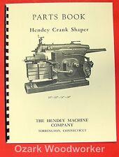 "HENDEY 16""-20""-24""-28"" Metal Shaper Parts Manual 0351"