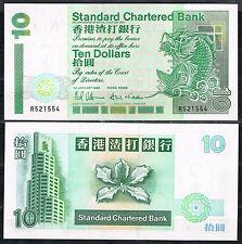 HONG KONG - SCB  10 DOLARES 1993 PicK 284a   SC  UNC