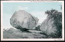 FREDERICKSBURG TX Balancing Rock Vtg Texas Postcard