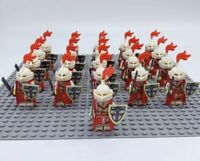 21x Knights Army Soldiers Mini Figures (LEGO Compatible)