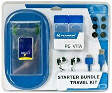 6 Piece Starter Kit USB data/charger/sync cable Earphones + more for PS Vita