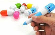 More details for novelty vitamin pill pens funny joke nurse doctor paramedic vet birthday gift