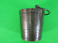"""PAIRPOINT Quadruple Silver Plate Pail #2509 5""""Tall 4 1/2"""" dia.  New Bedford MA"""