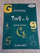 Due in G PER FLAUTO E PIANOFORTE * Nuovo * da Geoffrey Wilson