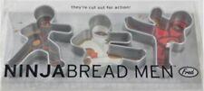 NinjaBread  Men Cookie Cutter Set of Three. Opened Package, Unused