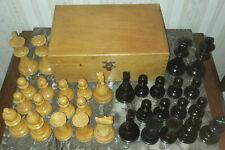 pièces jeu d' échec en bois