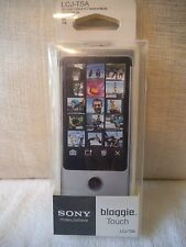 SONY BLOGGIE TOUCH CAMERA CAMCORDER LCJ-TSA SKIN JACKET COVER MHS-TS20 TS10