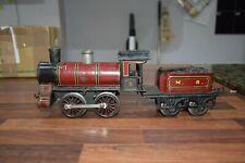 Bing Gauge 1 Clockwork lady godiver mr Locomotive Tender excellent working 1920s