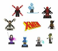 Lego XMen Minifigures Marvel Avengers Spider Man Wolverine Venom Deadpool Hulk