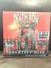 Death Row's Greatest Hits 4LP sealed CLEAR VINYL reissue Dr. Dre Snoop Dogg 2Pac