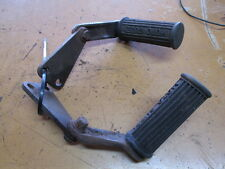 Moto Guzzi Eldorado Foot Peg Assembly Set w/ Mount Plate Brackets