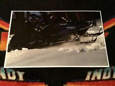 New listing 🏁 '93 POLARIS INDY XLT Special Snowmobile Action  Poster vintage sled triple SP