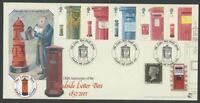 2002 150th Anni. First Pillar Box. Cover Letter Box Study Group Cancels.