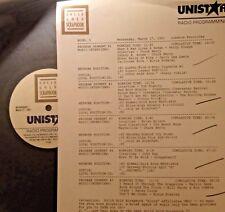 RADIO SHOW: 3/27/91 JUKEBOX FAVS! CHUCK BERRY, CCR, BEACH BOYS, ELVIS,BILL HALEY