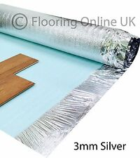 30m2 Deal - 3mm Comfort Silver - Acoustic Underlay For Wood & Laminate Flooring