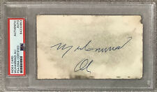 Muhammad Ali Signed Index Card Vintage Full Sig Autograph Boxing Champ PSA/DNA