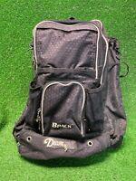 Black Diamond BPACK Baseball/Softball Backpack Bag Bat Holder Ball Fast Ship