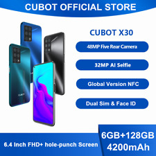 6,4 Zoll Cubot X30 6GB+128GB Handy Android 10 NFC Smartphone 4G Dual-SIM Face ID