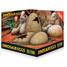 Exo Terra Dinosaur Eggs Fossil Hide Out for lizards, snakes, geckos, frogs