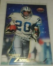 1998 Topps Stars Football BARRY SANDERS Gold Parallel LIONS /1999