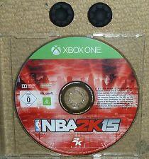 NBA 2K15 GAME for MICROSOFT XBOX ONE + 2 CONTROLLER THUMB GRIPS Basketball 2015