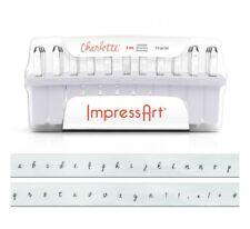 Charlotte ImpressArt Metal Stamps 3mm, Steel Punches Lowercase Stamping Supplies
