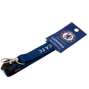 CHELSEA FC ID I.D. LANYARD DETACHABLE KEYRING CAMERA STRAP BADGE NEW XMAS GIFT