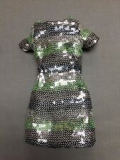 INTEGRITY TOYS POPPY PARKER TEEN MALLORY MARTIN SILVER SHINE DRESS FOR TULABELLE