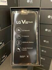 LG V50 ThinQ 5G 128GB (Sprint Unlocked) Smartphone Black NEW Read Notes