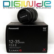 NEW Panasonic Lumix G X Vario 12-35mm F/2.8 II OIS ASPH AF Lens UK NEXTDAY D