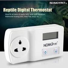 220V Digital Thermostat Reptile Heat Mat Lamp Aquarium Temperature Controller