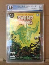 The Saga Of Swamp Thing #37 1st App John Constantine PGX 9.6 Not CGC