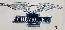 Chevrolet Men's Logo T-Shirt Small Officially Licensed Eagle Chevy Car Truck